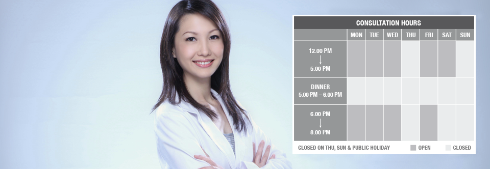Goodhealth TCM Clinic Consultation Hours
